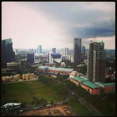 a great view of Jakarta