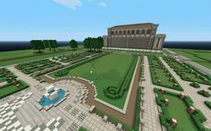 New York Public Library and other libraries - built in Minecraft
