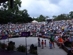 Over 2,500 people present at 8/31/13 free Opera in the Park at Dogwood Dell Amphitheater with members of the VA Opera and Symphony Musicians of Richmond-many families brought their children -what a great way to introduce opera and classical music to young people!