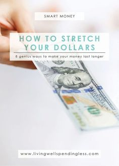 Spending Habits | Make Money Last | Financial Planning Tips | Smart Money via @lwsl