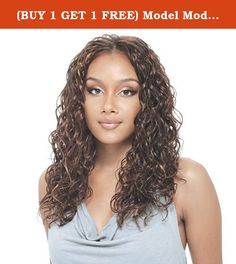 """(BUY 1 GET 1 FREE) Model Model Synthetic Hair Weave Glance Drama Curl 16"""" (P703). Model Model Synthetic Hair Weave Glance Drama Curl 16"""". Curling Instruction •This product is made with Flame-Retardant Fiber for your safety, make sure that the package says """"Flame-Retardant"""" before choosing a Heat-Resistant •Electric is recommended. (8 on heat setting of 1-10 scale, or H on High, Med, Low scale.) Although stove irons can be used, we do not recommend them because the temperature is much more..."""