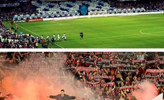 """Living proof that fans make the occasion: The Cove - """"Sydney is a state of mind"""" - and RBB in action at the #SydneyDerby. See the highlights in our 'Watch Listen' page. 19.10.14"""