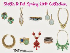 NYC Recessionista: NEW ARRIVALS - Stella and Dot spring 2014 collection