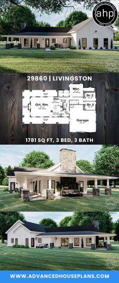 Open Floor House Plans, Porch House Plans, Garage House Plans, Barn House Plans, Craftsman House Plans, Country House Plans, New House Plans, Dream House Plans, Modern House Plans