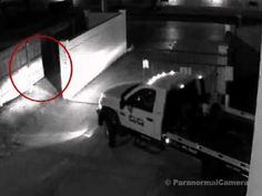 abraham lincoln ghost caught on tape. possible real ghost caught on tape in a truck parking lotscary abraham lincoln