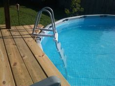 Deck for pool
