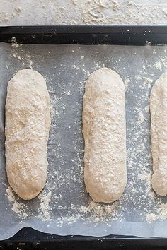Recipe Homemade bread: Basic bread dough (quick and simple) Ciabatta, Biscotti, Antipasto, Focaccia Pizza, Easy Bread, Wonderful Recipe, Zucchini Bread, Bread Recipes, Food And Drink