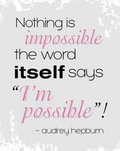 Think possible!