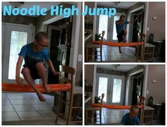 Indoor Pool Noodle Games