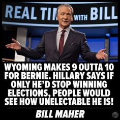 The media refuse to see Bernie's stock rising, while Hillary's is plummeting.  She can't win a general election.