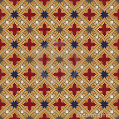 Medieval Pattern by Digitaln, via Dreamstime Textures Patterns, Fabric Patterns, Color Patterns, Medieval Pattern, Album Design, Tapestry Crochet, Texture Design, Pattern Wallpaper, Pattern Design