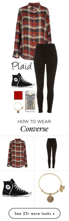 """Untitled #185"" by matilda131 on Polyvore featuring Band of Outsiders, River Island, Casetify, Converse and Alex and Ani"