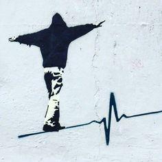 streetart_in_rome: the district becomes art gallery to open sky art DISTRICT., Art D. : streetart_in_rome: the district becomes art gallery to open sky art DISTRICT., Art District Gallery kunstacryl open sky streetartinrome streetart_in_rome: d Banksy Graffiti, Street Art Banksy, Bansky, Street Art Quotes, Graffiti Artists, Urbane Kunst, Arte Black, Stencil Art, Stencil Street Art