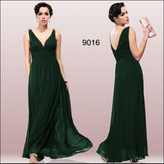 Темно зеленое платье в греческом стиле