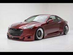 2012 FuelCulture Hyundai Genesis Coupe Turbo Concept