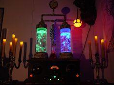 Halloween Lab props | Prop Showcase: Frankenstein Laboratory Bubbler Prop #2