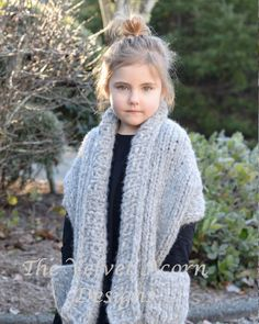 Knitting PATTERN-The Elmy Wrap 2/3 4/6 7/9 10/12 14/16