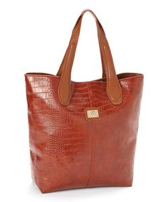 Another great find on #zulily! Brown Charlene Tote by CXL by Christian Lacroix #zulilyfinds