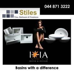Ixia Taps and Basins are designed to make a difference. Stiles has no less than 12 manufacturers supplying us with a huge variety, to ensure you get the biggest selection of top name brands. #homeimprovement #homedecor #basinsandtaps