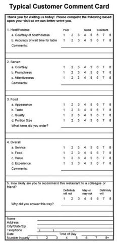 Restaurant Employee Absence Report Form  Work Work