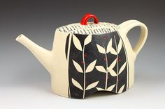 Lovely Vines Teapot from Rita Vali