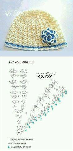 Croche e Pontos  Roupas Infantis 15 12 17 Háčkované Květiny 852d9fa4f1