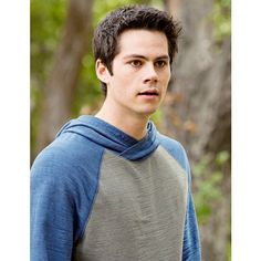 Dylan O'Brien as Stiles Stilinski on Teen wolf, all grown up! | Dylan... ❤ liked on Polyvore featuring dylan o'brien