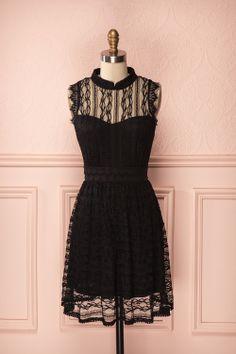 Danette Classique - Black lace dress