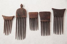 Chokwe Combs, Congo.