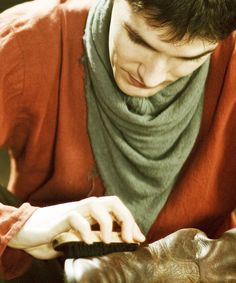 Colin Morgan as Merlin |via Tumblr