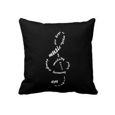 Gorgeous musical cushion