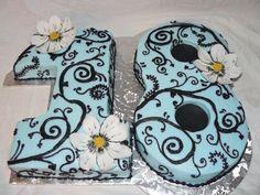 Ideas birthday cake girls teenager make up sweet 16 - Birthday Cake Vanilla Ideen 18th Birthday Cake For Girls, Number Birthday Cakes, 17 Birthday Cake, Number Cakes, Sweet 16 Birthday, 16th Birthday, Girl Birthday, Happy Birthday, Teen Cakes