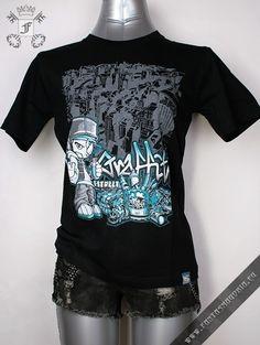Streetstyle graffiti T-shirt
