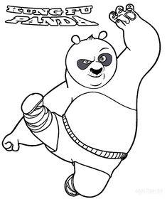 coloreable-kung-fu-panda