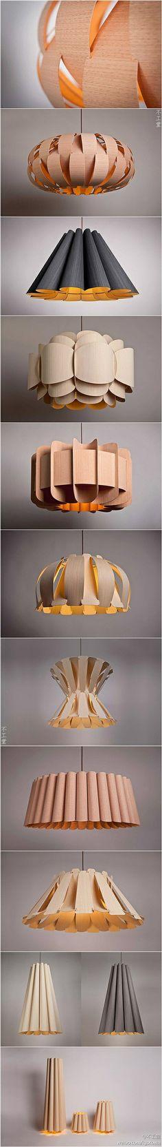 木片灯具 - 堆糖 发现生活_收集美好_分享图片