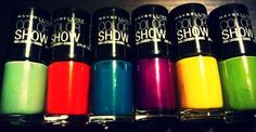 Maybelline Color Show.