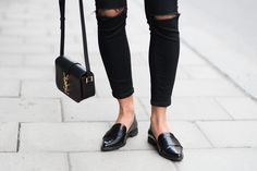 Obsessed with these loafers.