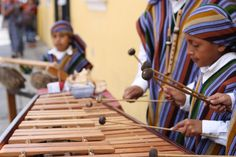 Kids playin marimba in Guatemala. Some day I need to go to this place where everyone plays marimba!