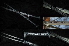 Thranduil's Swords by Ilionej.deviantart.com on @DeviantArt