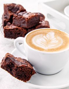 Brownie   Kwestia Smaku Tableware, Food, Dinnerware, Tablewares, Essen, Meals, Dishes, Place Settings, Yemek