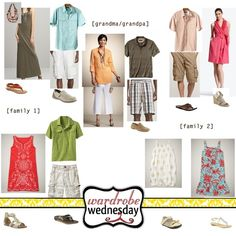 extended family photo what to wear #wtw by mayra