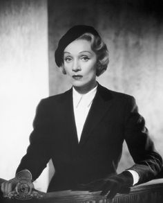 "Marlene Dietrich in ""Witness for the Prosecution""(1957)"