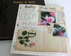 This blog has a sample of a garden journal.