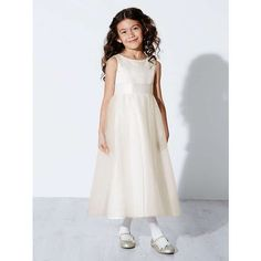 BuyJohn Lewis Girl Fairy Bridesmaid Dress, Ivory, 6 years Online at johnlewis.com