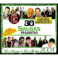 Various Artists - 30 Salsas Pegaditas: Lo Nuevo y lo Mejor 2008 (2CD/1DVD)
