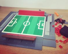 Bootham Crescent Timelapse Lego Football, Build Your Own, Diy