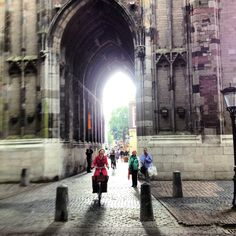 Bottom arch of the #Dom tower