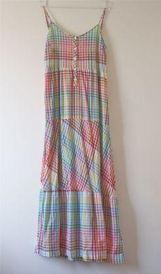 vestido longo xadrez cantão - vestidos cantão