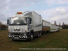 Old Lorries, Fun Fair, Peterborough, Caravans, Recreational Vehicles, Trailers, Attraction, Transportation, March