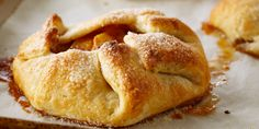 Apple Cinnamon Galettes/ Anna olson recipe